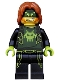 Minifig No: uagt035  Name: Terabyte - Dark Orange Hair