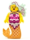 Minifig No: vid001  Name: Candy Mermaid