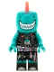 Minifig No: vid002  Name: Shark Singer - Minifigure only Entry
