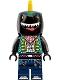 Minifig No: vid029  Name: Shark Guitarist