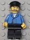 Minifig No: wc010  Name: Hovercraft Pilot, Blue Jacket, Black Hat