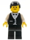 Minifig No: wtr002  Name: Town Vest Formal - Waiter