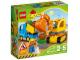 Lot ID: 248626611  Original Box No: 10812  Name: Truck & Tracked Excavator