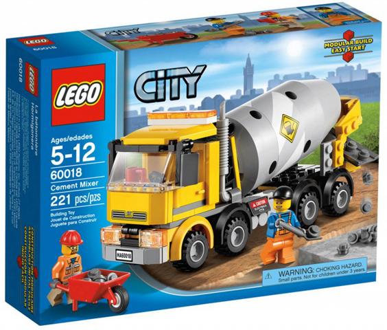 Set 60018-1 : Cement Mixer [Town:City:Construction] - BrickLink ...