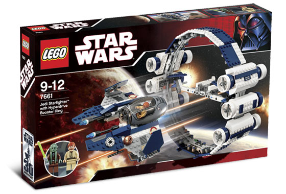 Lego Star Wars Building Instructions Jedi Starfighter With