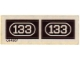 Part No: 133stk01  Name: Sticker for Set 133 - (004587)
