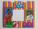 Part No: 13586pb03  Name: Paper, Duplo Wallpaper with Bedroom Interior Pattern (fits inside 11335)