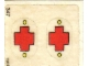 Part No: 137.1stk02  Name: Sticker for Set 137-1 - Sheet 2, Red Cross for Car Doors - (190257)