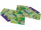 Part No: 17870  Name: Cloth Tent, Friends Jungle Leaves with Dark Purple Trim Pattern