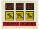 Part No: 180stk01  Name: Sticker Sheet for Set 180 - (003436)