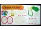 Part No: 230.1stk01  Name: Sticker Sheet for Set 230-1 - Single Sheet Version - (4319)