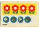 Part No: 263.1stk01  Name: Sticker for Set 263-1 - (004231)