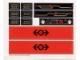 Part No: 3225stk01  Name: Sticker for Set 3225 - (22109/4124584)