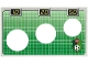 Part No: 3412cdb01  Name: Paper, Cardboard Backdrop for Sets 3412/3418 - Soccer Goals