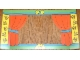 Part No: 3615plst05  Name: Plastic Backdrop for Sets 3615 / 9131 #3 - Theater Curtains