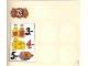 Part No: 3675stk01  Name: Sticker Sheet for Set 3675 - (192845)