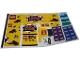 Part No: 4000022stk01  Name: Sticker Sheet for Set 4000022-1