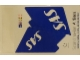 Part No: 4032.2stk01  Name: Sticker Sheet for Set 4032-2 - SAS Airlines (52382/4244364)