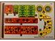 Part No: 40366stk01  Name: Sticker Sheet for Set 40366 - (59439/6271650)