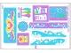 Part No: 41015stk01  Name: Sticker Sheet for Set 41015 - (14251/6037729)