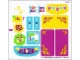 Part No: 41034stk01  Name: Sticker Sheet for Set 41034 - (17583/6074006)