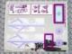 Part No: 41062stk01  Name: Sticker Sheet for Set 41062, Mirrored - (20210/6103879)
