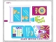 Part No: 41103stk01b  Name: Sticker Sheet for Set 41103 - North American Version - (21226/6115187)