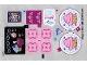Part No: 41119stk01b  Name: Sticker Sheet for Set 41119 - North American Version - (25232/6138628)