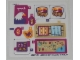 Part No: 41122stk01b  Name: Sticker Sheet for Set 41122 - North American Version - (25770/6142693)
