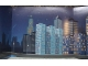 Part No: 4130910  Name: Paper, Cardboard Backdrop for Set 1349 (Nighttime City)