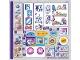 Part No: 41345stk01  Name: Sticker Sheet for Set 41345 - (38015/6222302)