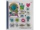 Part No: 41410stk01  Name: Sticker Sheet for Set 41410 - (67790/6299720)