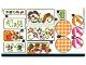 Part No: 41444stk01  Name: Sticker Sheet for Set 41444 - (72754/6325166)