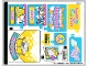 Part No: 41456stk01  Name: Sticker Sheet for Set 41456 - (39115/6231531)