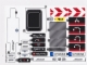 Part No: 42043stk01  Name: Sticker Sheet for Set 42043 - (23697/6124276)