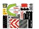Part No: 42054stk01a  Name: Sticker Sheet for Set 42054 - International Version - (28214/6161280)