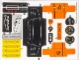 Part No: 42056stk01  Name: Sticker Sheet for Set 42056 - (27056/6154914)