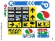 Part No: 4207stk01  Name: Sticker Sheet for Set 4207 - (10010653/6005895)