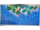 Part No: 4234591  Name: Paper, Playmat Sea with Beach, Trees, and Debris Pattern - Set 7073