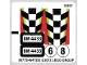 Part No: 4433stk01  Name: Sticker Sheet for Set 4433 - (98772/4647293)