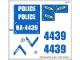 Part No: 4439stk01  Name: Sticker Sheet for Set 4439 - (99222/4649788)