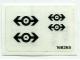 Part No: 4525stk01  Name: Sticker for Set 4525 - (168265)