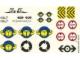 Part No: 4555stk01  Name: Sticker Sheet for Set 4555 - (169675)