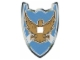 Part No: 48080  Name: Shield for Large Figures with Knights Kingdom Jayko Hawk Pattern - (Undetermined Material Type Version)