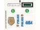 Part No: 4854stk01  Name: Sticker Sheet for Set 4854 - (49858/4225288)