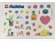 Part No: 5005239stk01  Name: Sticker for Set 5005239 (Glittery)