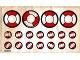 Part No: 575.2stk01  Name: Sticker Sheet for Set 575-2 - Sheet 1 (004632)