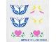Part No: 5870stk01  Name: Sticker Sheet for Set 5870 - (168795)