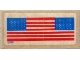 Part No: 590stk01flag  Name: Sticker Sheet for Set 590 - US Flags only (5048)