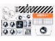 Part No: 60036stk01b  Name: Sticker Sheet for Set 60036 - Solid Color Background Version - (17893/6077971)